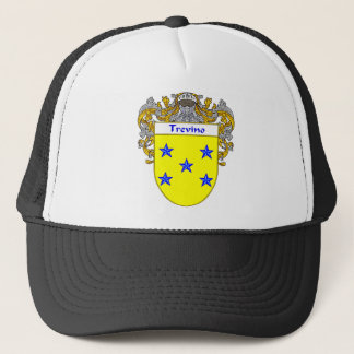 Trevino Coat of Arms/Family Crest Trucker Hat