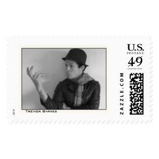 Trevor Barnes Headshot Stamp