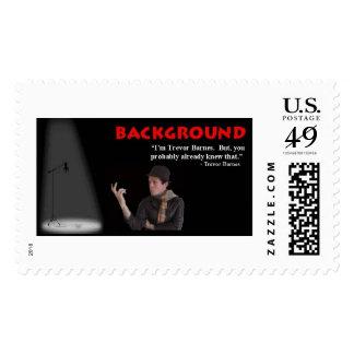 Trevor Barnes Quote Stamp