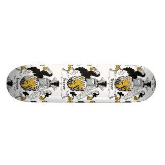 Trevor Family Crest Custom Skateboard