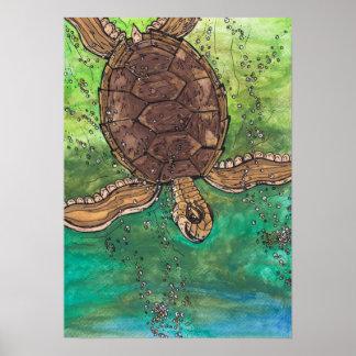 Trevor la impresión de la tortuga impresiones