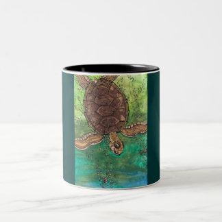 Trevor the Turtle Mug