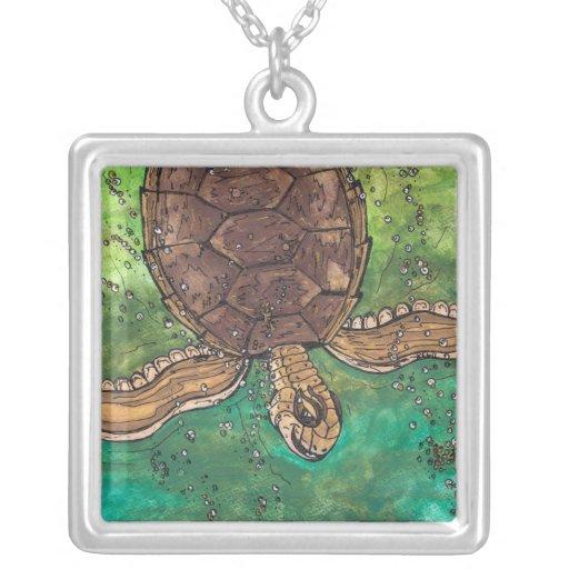 Trevor the Turtle Necklace