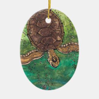 Trevor the Turtle ornament