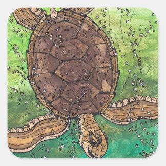 Trevor the Turtle stickers