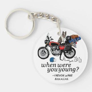 Trevor Ware (B.O.X.N.I.F.E.)- When Were You Young? Single-Sided Round Acrylic Keychain