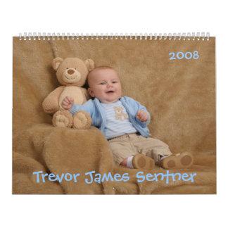 Trevor's 2008 Calendar