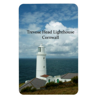 Trevose Head Lighthouse Cornwall England Magnet