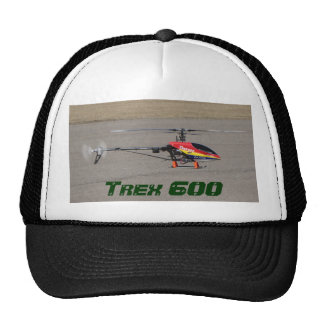 Trex 600 RC Helicopter Hovering Trucker Hat