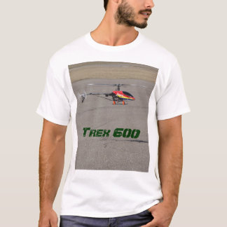 Trex 600 RC Helicopter Hovering T-Shirt