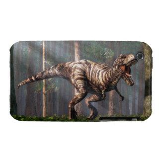 TRex en el bosque iPhone 3 Case-Mate Carcasas