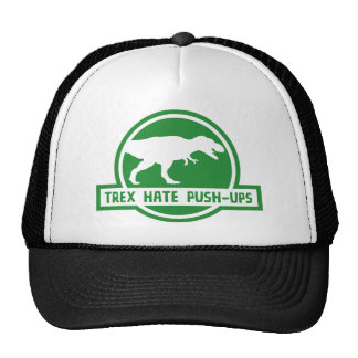 Trex Hate Push-Ups Trucker Hat