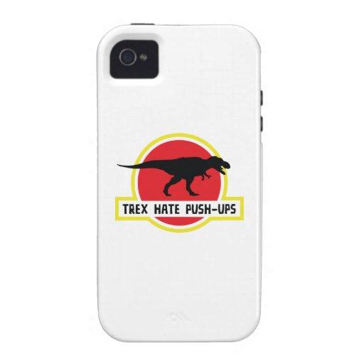 Trex Hate Push-Ups iPhone 4/4S Case