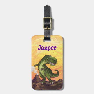 TRex Heads and Tails Luggage Tag