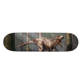 TRex in the Forest Skateboard Deck