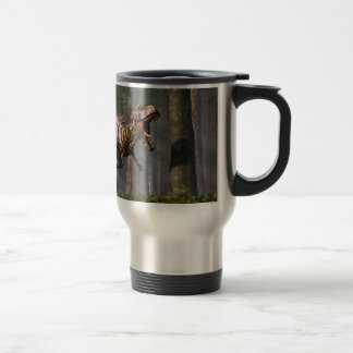 TRex in the Forest Travel Mug