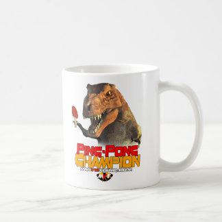 TRex: Ping Pong Champion Coffee Mug