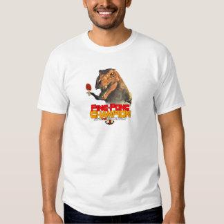 TRex: Ping Pong Champion Tee Shirt