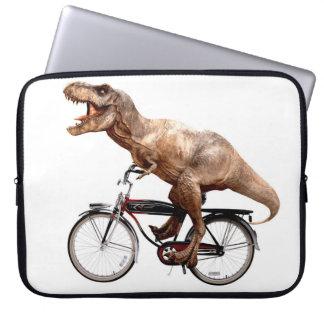 Trex riding bike computer sleeve