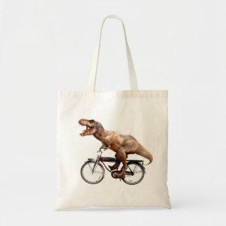 Trex riding bike tote bag