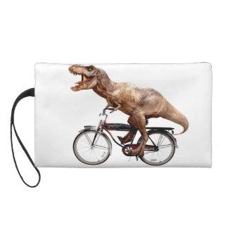 Trex riding bike wristlet purse