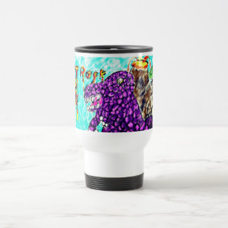 Trex rock travel mug