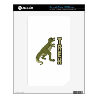 Trex Decal For The NOOK Color