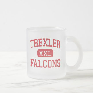 Trexler - Falcons - Middle - Richlands 10 Oz Frosted Glass Coffee Mug
