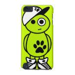 Trey - caso de la GEN del tacto de iPod 5to (verde