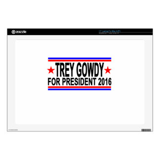 TREY GOWDY FOR PRESIDENT 2016 Tee Shirts.png Decals For Laptops