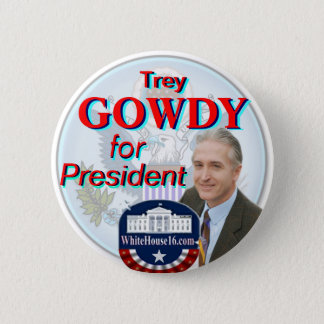 Trey Gowdy for President Great Seal Button