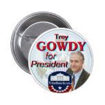 Trey Gowdy para el botón del presidente gran sello Pins
