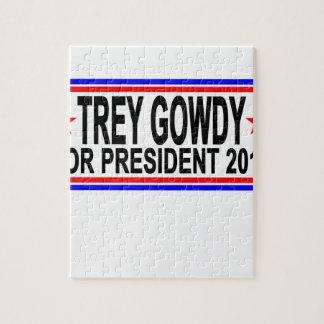 TREY GOWDY PARA el PRESIDENTE 2016 camisetas .png Puzzle