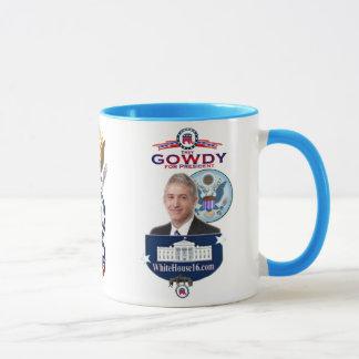 Trey Gowdy para presidente Ringer Mug Taza