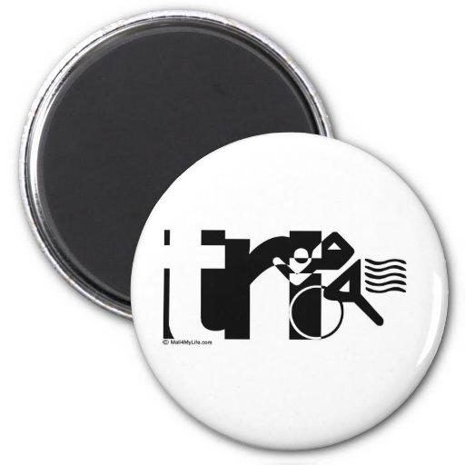 Tri 2 Inch Round Magnet