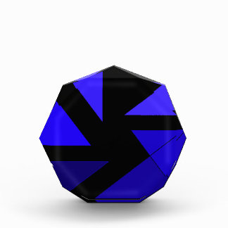 Tri 3 azul - CricketDiane PopArt abstracto
