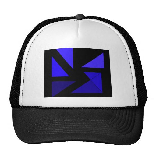Tri 3 Blue - CricketDiane Abstract PopArt Hat
