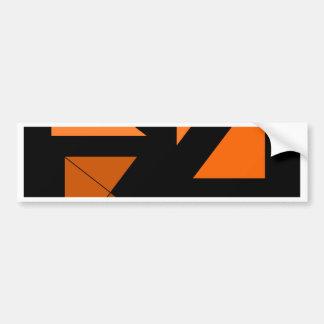 Tri 3 CricketDiane Art Bumper Sticker