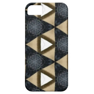 Tri and Tri Again Blue Patterned iPhone SE/5/5s Case