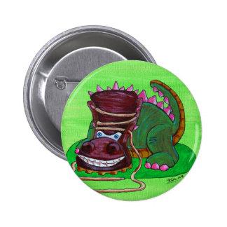 Tri-Boot-A-Tops Pinback Button