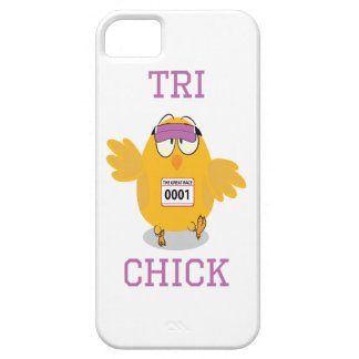 Tri Chick iPhone 5 Cover
