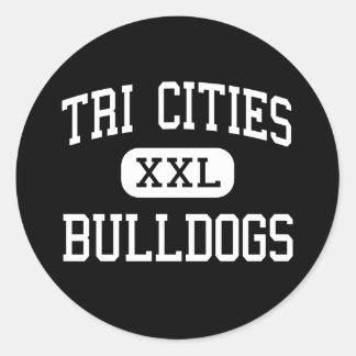 Tri Cities - Bulldogs - High - Atlanta Georgia Classic Round Sticker