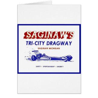 Tri - City  Dragway Card