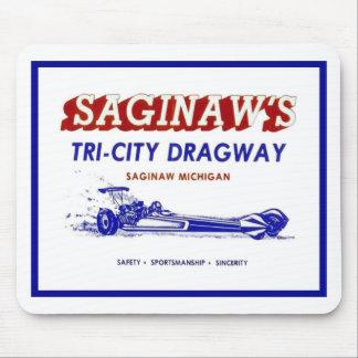 Tri - City  Dragway Mouse Pad