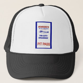 Tri - City Dragway Pit Pass Trucker Hat
