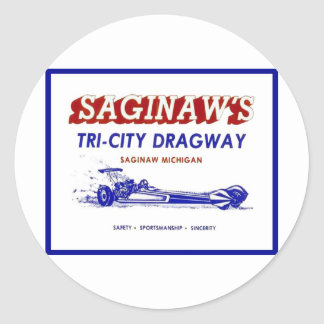Tri - City  Dragway Classic Round Sticker