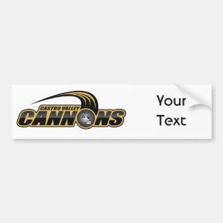 Tri-city Little League Cougars Under 12 Car Bumper Sticker