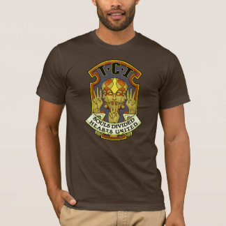 Tri-Clone Invasion Badge T-shirt