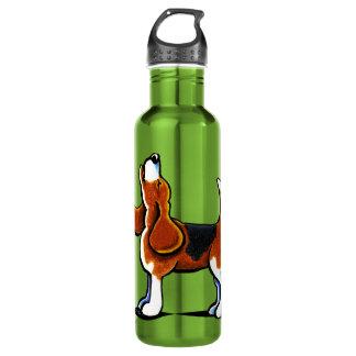 Tri-color Beagle Bay 24oz Water Bottle