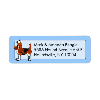 Tri-color Beagle Bay Studio Blue Label